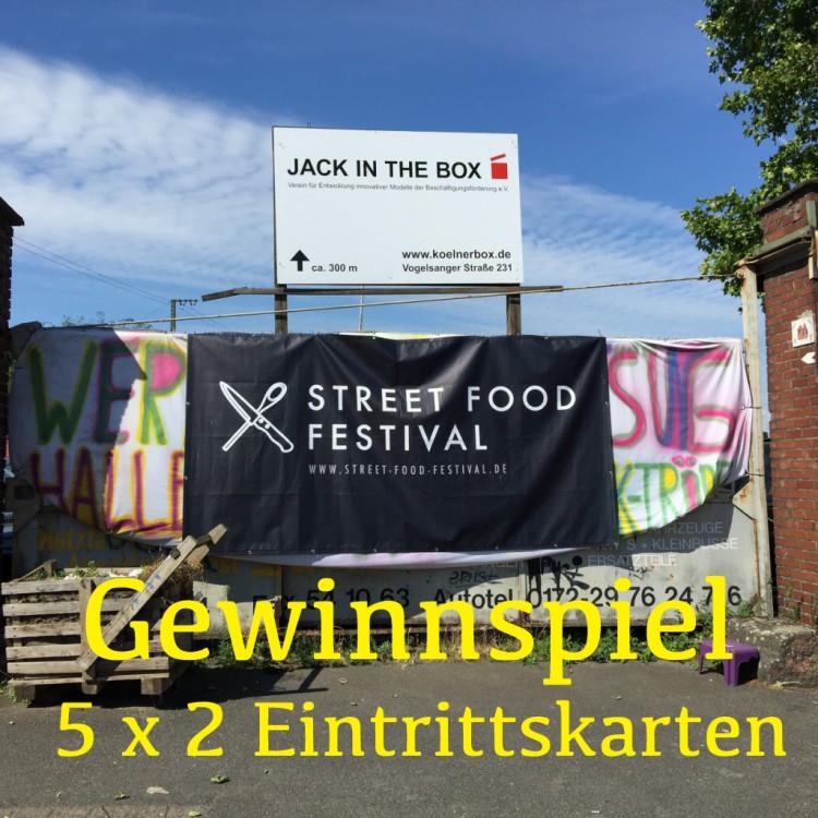 Titelbild Gewinnspiel Street Food Festival Köln