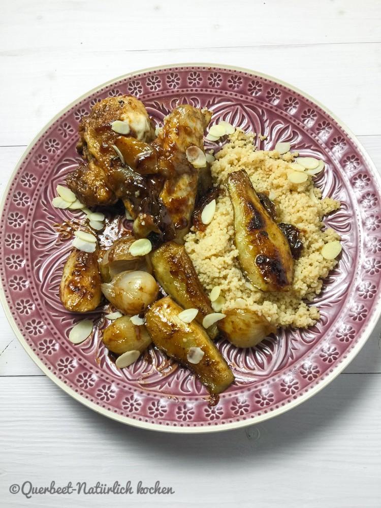 Hähnchen mit Zwiebel und Birne.querbeetnatuerlichkochen