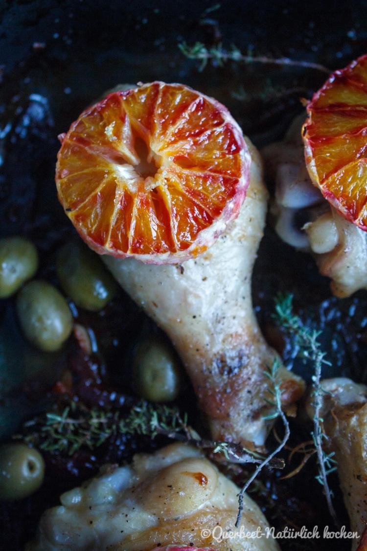 Haehnchen mit Marsala, Oliven und Blutorangen 6.querbeetnatuerlichkochen