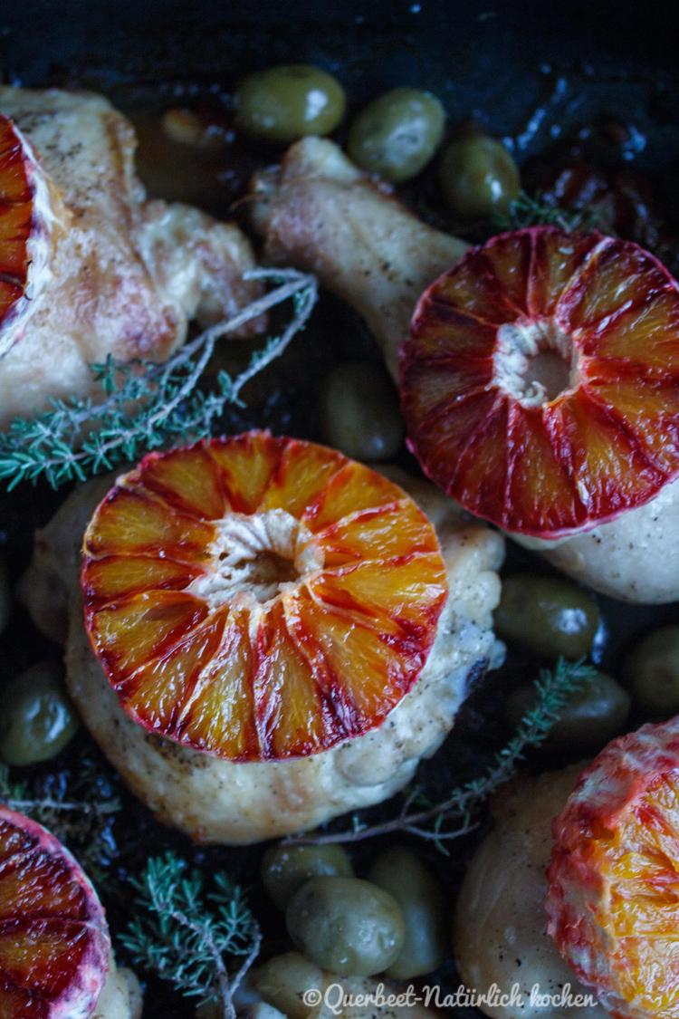 Haehnchen mit Marsala, Oliven und Blutorangen 7.querbeetnatuerlichkochen