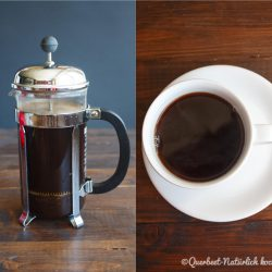 Zubereitung Kaffee in der French Press 4.querbeetnatuerlichkochen